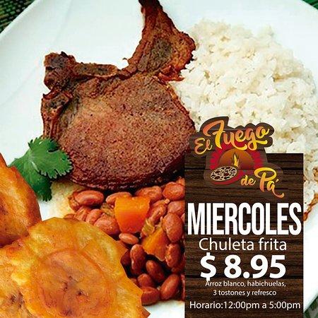Trujillo Alto, Puerto Rico: Oferta de almuerzo de miércoles