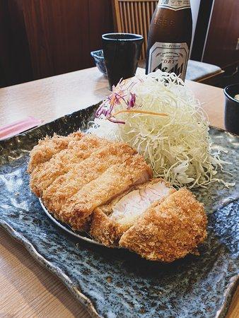 Premium Pork Katsu.. Amazing..
