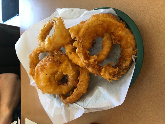 Cassopolis, MI: Large order of onion rings.