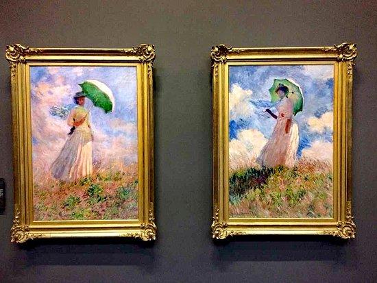Orsay, Ranska: Monet,Saggio di figura en plein airè il nome di due dipinti del pittore francese