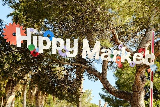 Es Canar, España: Hippy Market Punta Arabí