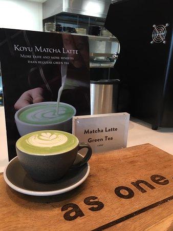 Matcha Latte Green Tea!