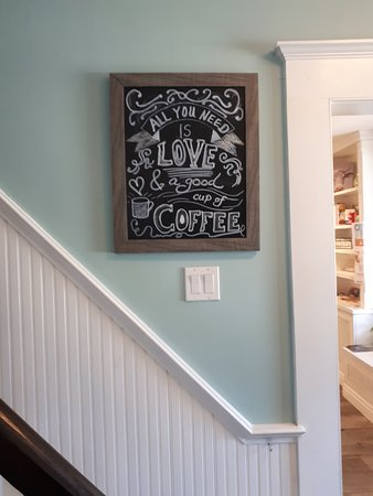 Schomberg, Canada: All you need is love and a good cup of coffee.