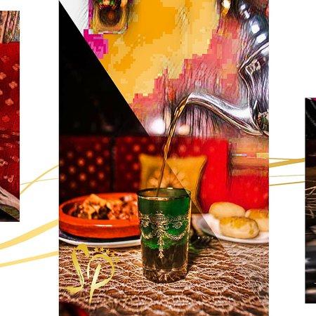 Le thé à la menthe est le seul et l'unique symbole de la convivialité, détente et hospitalité . Venez vivre l'art de la tradition marocaine.