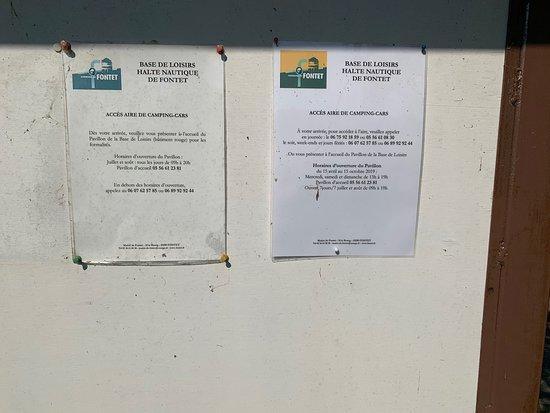 Fontet, Frankrike: En canal de Midi .Ya había usado el puerto.Esta vez use el campingcar parking y solo puedo decir que fabuloso.Los precios aparecen en las fotos