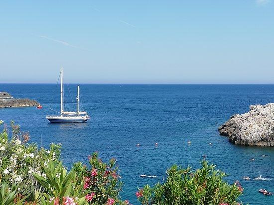 Porto Badisco, Itália: Che mare..... e che ricci.....