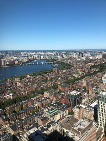 Amazing view of Boston