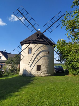 Zlin, Češka Republika: Větrný mlýn Štípa
