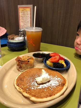 Yummy and popular brunch in the Quarter
