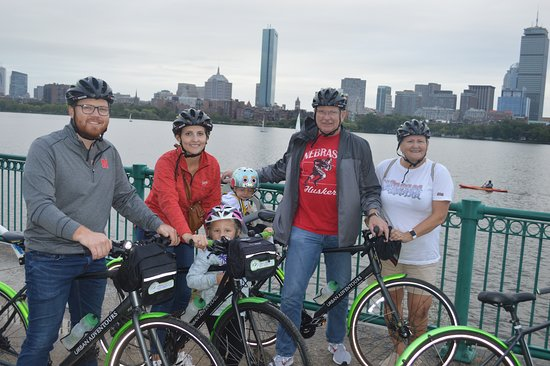 Tour de Boston Bike Tour (Great for families): Bob took pics of us too!