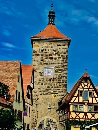 Romantic road is in Rothenberg...