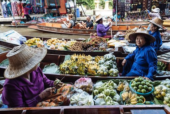 Floating Market by Bicycle