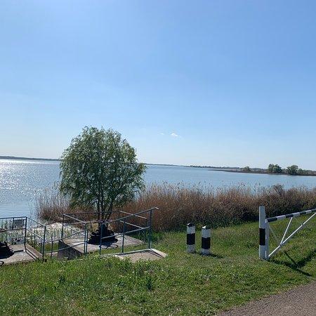 Poroszlo, Ungarn: Tisza-tó körbete tekertük :)