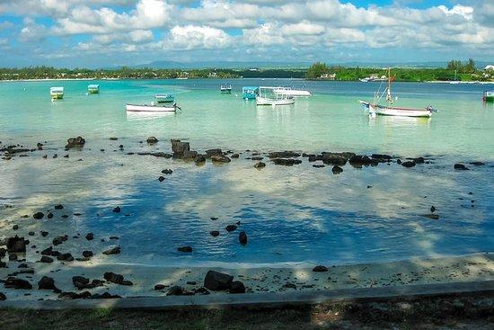 ブルーベイガラスボトムボート&シュノーケリングを含むモーリシャス南ツアー