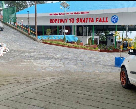 Ropeway to Bhattafall