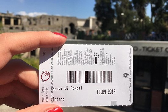 Sla de wachtrij over Pompeii ruïnes ...