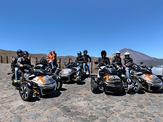 Tenerife: Turné i Can Am Spyder al Teide