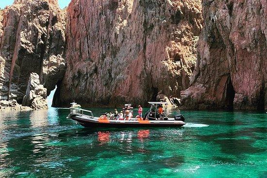 Gite in mare Scandola, Girolata
