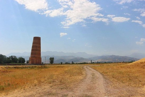 The ancient Burana Tower + Bishkek...