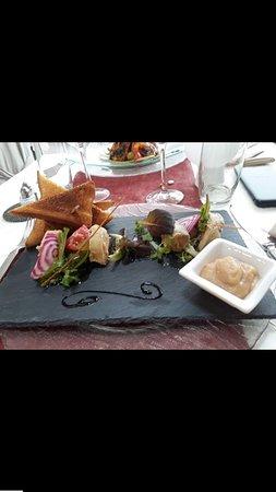 Saint-Cyr-du-Bailleul, Frankrike: Foie gras