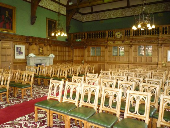 Chester Town Hall: The Council Chamber