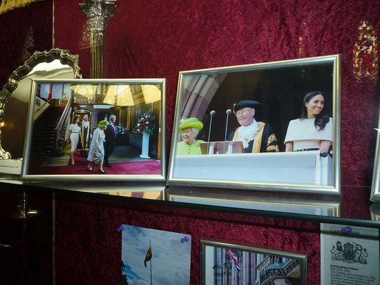 Chester Town Hall: The Queen and Meghan were visitors
