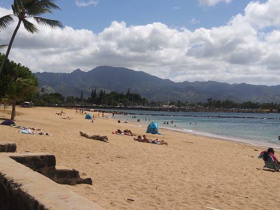 Oahu's North Shore, Hawaï : Beach at the North Shore