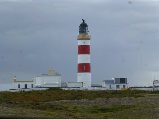 Bride, UK: Point of Ayre lighthouse