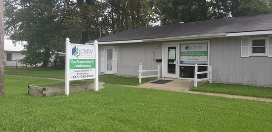 West Frankfort, IL: The home of CMW Tax Services Corp.  Offering Tax Preparation and Bookkeeping Services