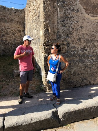 Loved Luisa and our tour of Pompei