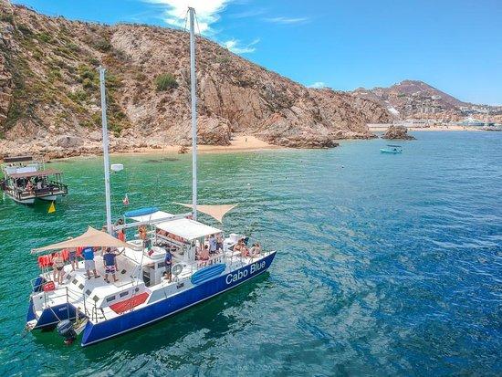 Cabo Blue Trimaran Sailing Boat