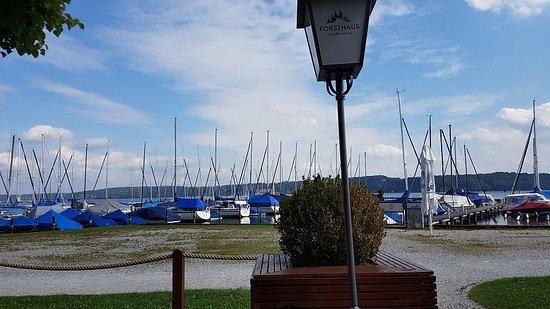 Possenhofen, Tyskland: Blick in Richtung See