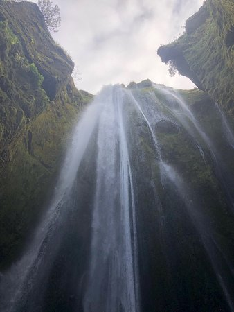 Beautiful hidden waterfall