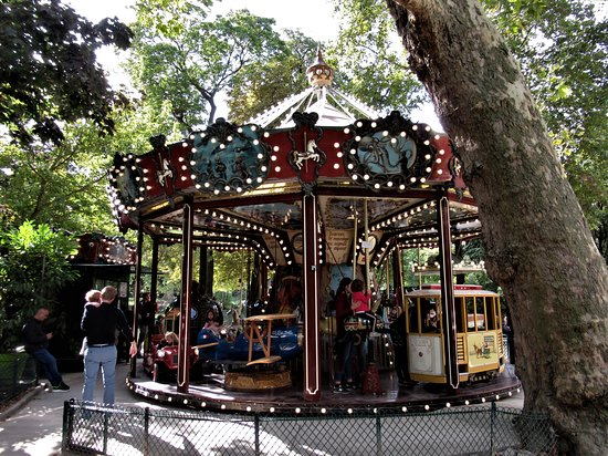 The Carrousel Of Parc Monceau