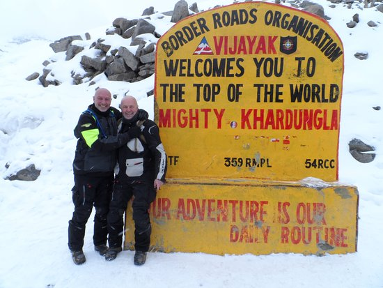 Manali Ladakh Motorcycle Expedition: The top of the world (by road anyway), Khardungla.