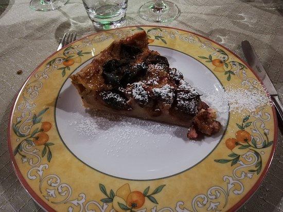 Beblenheim, Francia: Tarte alsacienne