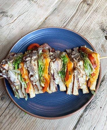 Smokehouse Club Sandwich