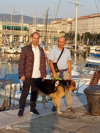 Villadose, Italien: Alberto (proprietario) e Daniele Tecchiati
