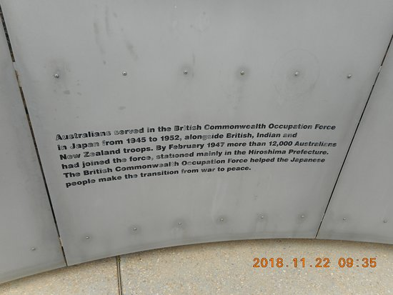 British Commonwealth Occupation Force Memorial