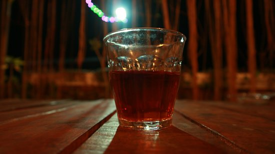 Sleman District, Indonesia: Cascara made from dried skin of coffee cherries. It has fruity notes and it's refreshing. Cascara is a great alternative beverage for those who dislike coffee.