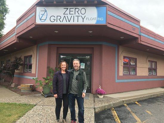 Zero Gravity Floating