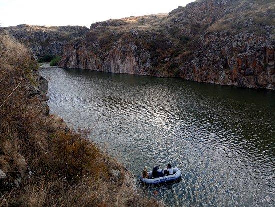 Marmashen, Armenia: Boat trip in wild  nature