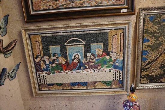 Jesus in Ceramic Art