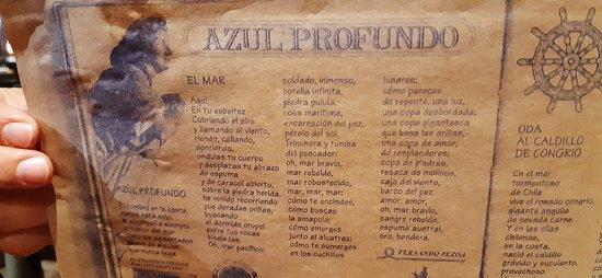 Jogo Americano Com Poema De Fernando Pessoa Fotografía De