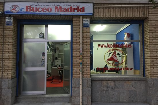 Buceo Madrid