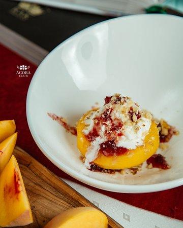 Peach Dessert Peşmelba