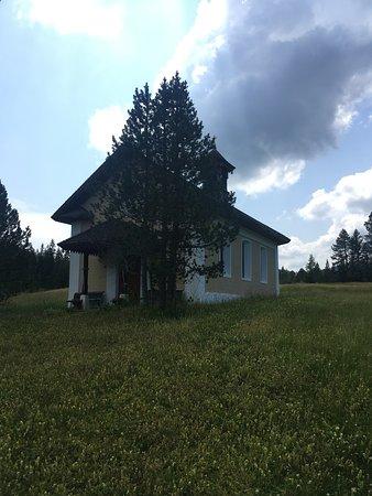 Bergrestaurant Schwendi-Kaltbad: Hübsche kleine Kirche