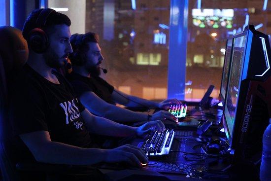 Gamma Game e-sport center in #Kuwait - Capital Of #Gamers   #Gamma_Game #عاصمة_اللاعبين  أكبر صالة ألعاب الكترونية مجهزة بأكثر من 200 جهاز  بأحدث المواصفات للحاسب الألي في #الكويت  سرعة انترنت فائقة السرعة لأكثر من شركة - أوقات العمل على مدار الساعة 24/7 - التسجيل عبر الموقع الالكتروني http://www.gammagame.com العنوان : السالمية - شارع سالم المبارك - خلف مجمع أولمبيا Location : http://bit.ly/gammagame