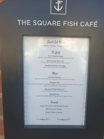 The Square Fish Cafe