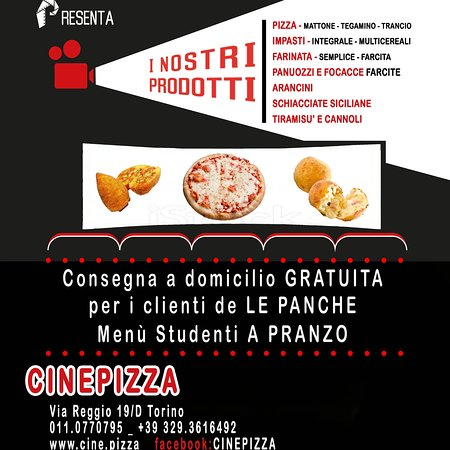 Panche Per Fast Food.Cinepizza Turin Menu Prices Restaurant Reviews Tripadvisor